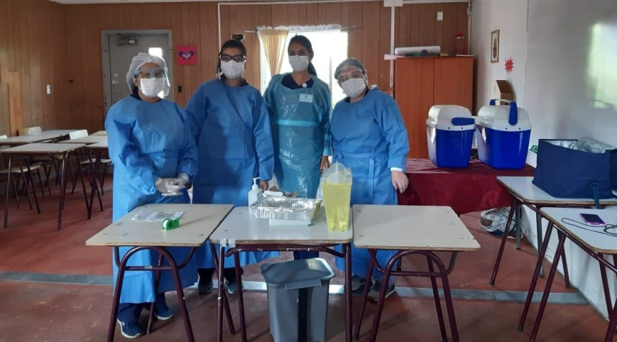 Estudiantes de Enfermería de USS Concepción participan de operativos de vacunación (1)