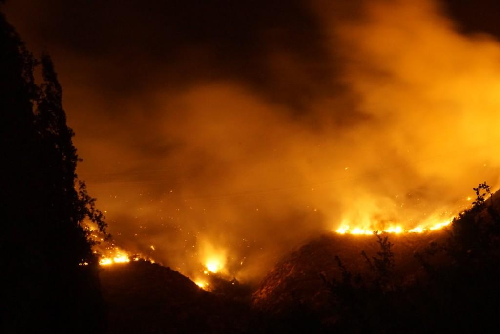 cambio_climático_Incendio_forestal_Pirque_Santiago_Chile