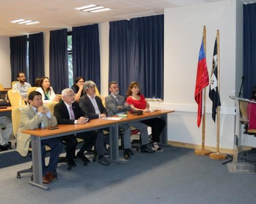 El académico de la FIT José Rodríguez presentó los resultados del estudio.