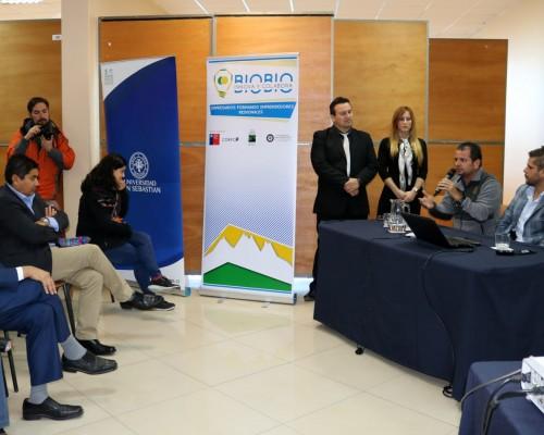 Los profesionales invitados expusieron sobre turismo sustentable en Costa Rica.