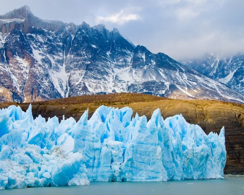 AGUA glaciar