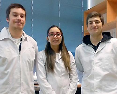 Los estudiantes de magíster de la facultad de Ingeniería y Tecnología Felipe Silva, María Ligia Inostroza y Rodrigo Cáceres se adjudicaron proyectos Fondef VIU.