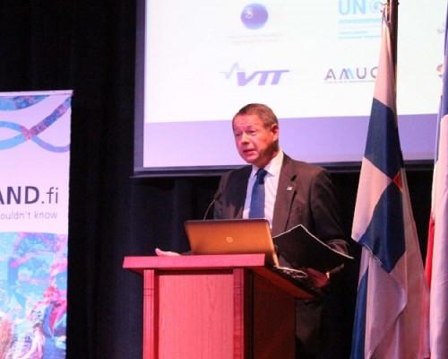 Embajador de Finlandia, Markus Leinonen.