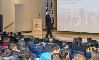 Vicepresidente ejecutivo de Corfo realizó clase inaugural en USS Concepción
