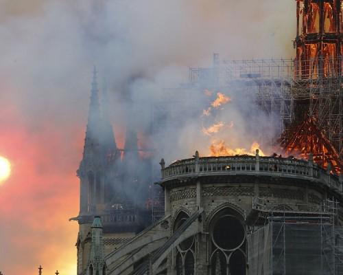 Incendio en Notre Dame: estructuras de hace 400 años