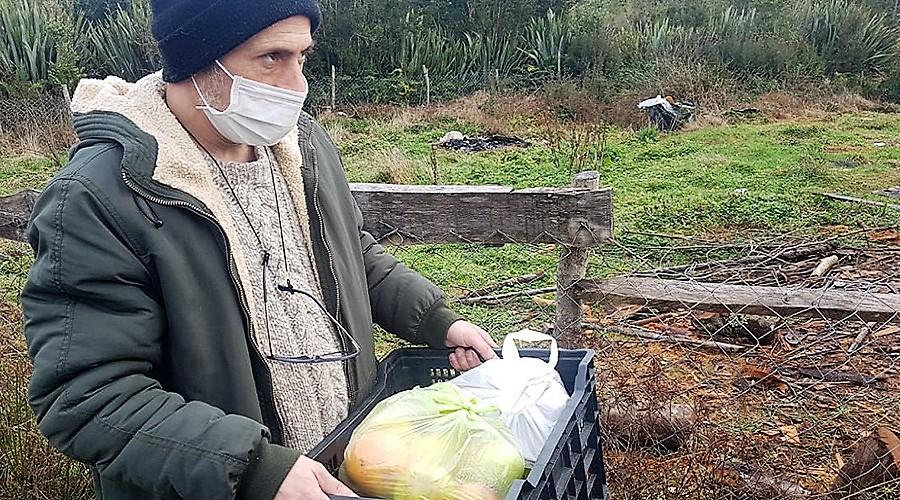 Estudiantes USS donan alimentos a Escuela Rural Lenca