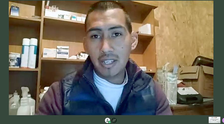 Académico de Medicina Veterinaria contó de investigación sobre caprinos en Lonquimay