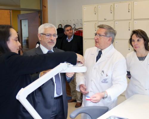 USS Concepción inauguró laboratorio para estudiantes de segundo año de Odontología.