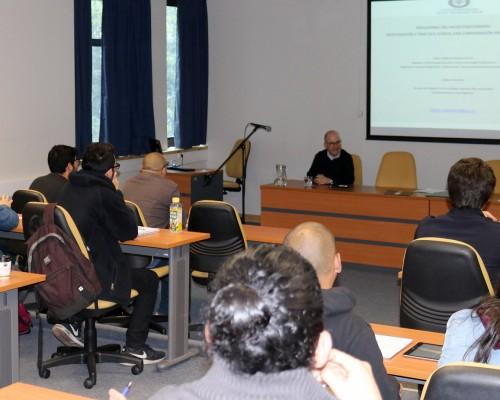 La reunión tuvo lugar en el Auditorio Gladys Matus del Campus Las Tres Pascualas.