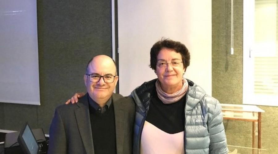 Alvaro Quiñones y Mayte Miró