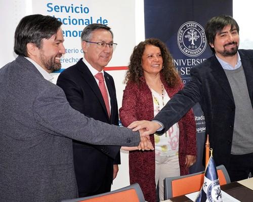 USS De la Patagonia apoyará con arte terapia a niños y adolescentes del Sename