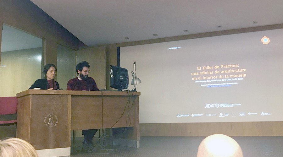 Académicos de Arquitectura participaron en Congreso en España