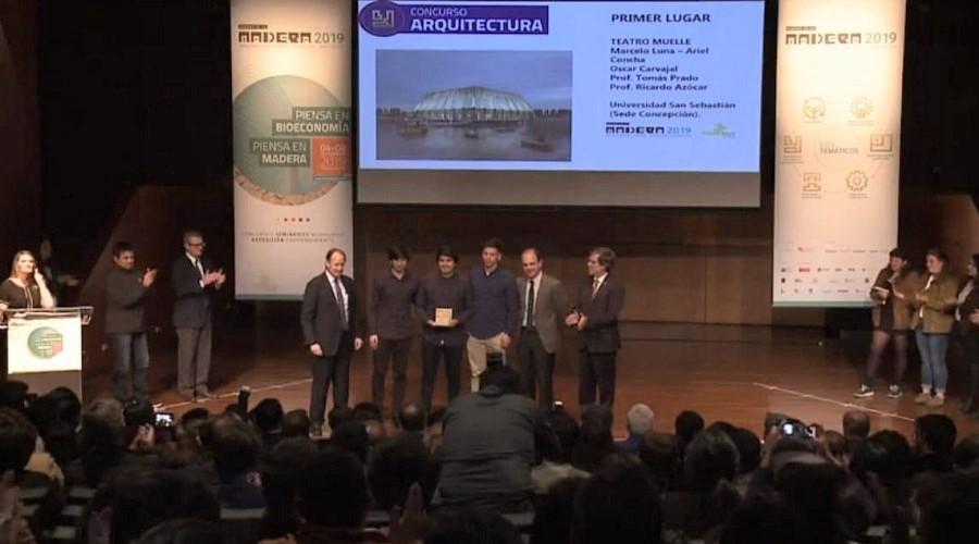 Estudiantes USS Concepción lograron primer lugar en Concurso Nacional de Arquitectura Madera21-Corma (4)