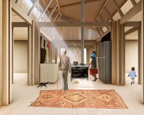 Premiado proyecto Casa Colmena ahora será vivienda para 17 familias