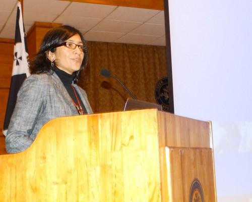 Sonia Prieto, directora de Química y Farmacia USS Concepción.