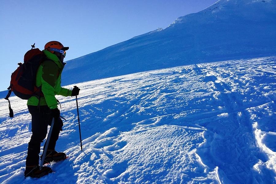 Esteban Hormazabal intentará subir a la cumbre del monte Aconcagua en enero del 2018.