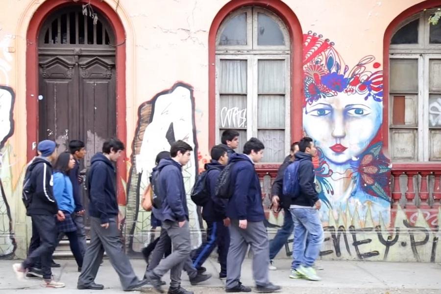 Estudiantes Paseo Patrimonial