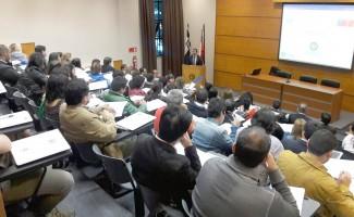 Jesús Soto, coordinador académico del programa, iniciando las actividades 2017.