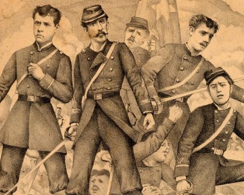 9 de julio de 1882, uno de los combates más dramáticos de Chile