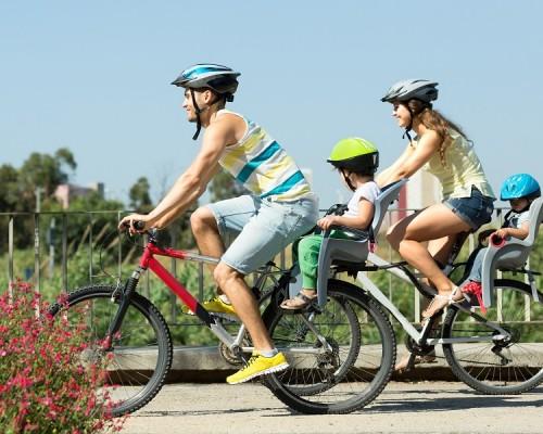Andar en bicicleta, rodar feliz y con seguridad