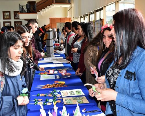 Estudiantes de Pedagogía Media en Inglés celebraron la semana de su carrera.