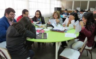 El Taller de la USS es una de las actividades de acompañamiento a los profesores del Liceo Yobilo.