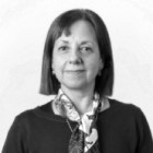 Rossana Fiorentino foto blanco y negro