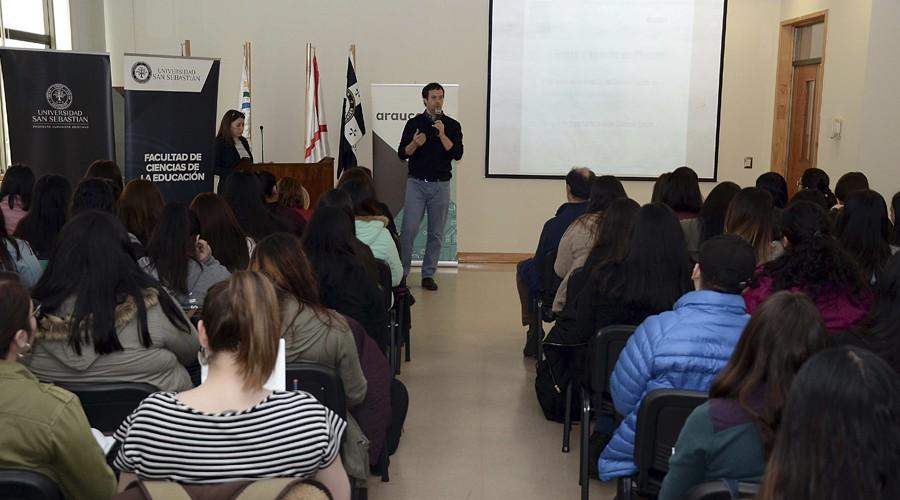 USS potencia el dominio lector junto a Fundación Educacional Arauco