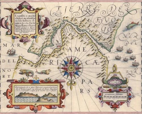 estrecho de magallanes mapa