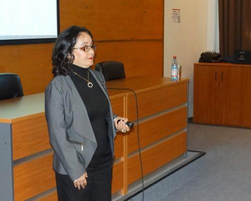 La doctora Denisse Pérez se ha dedicado al estudio de los niños con Síndrome de Down.
