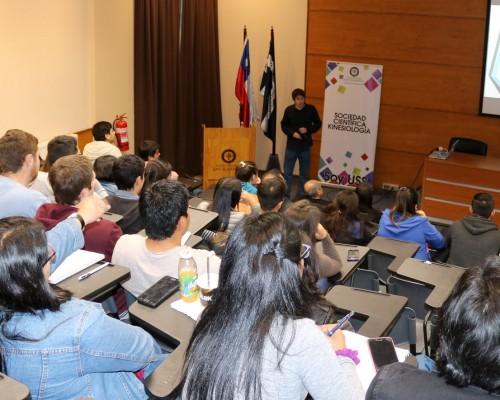 El seminario se concentró en el Auditorio Los Robles del Campus Las Tres Pascualas.