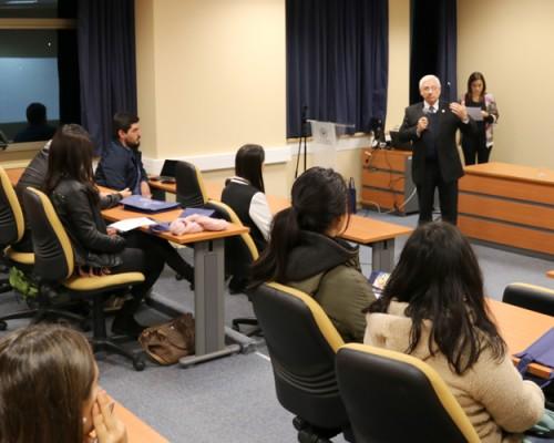 El diplomado Nuevas prácticas en Ortótica de Terapia Ocupacional fue presentado en Concepción.