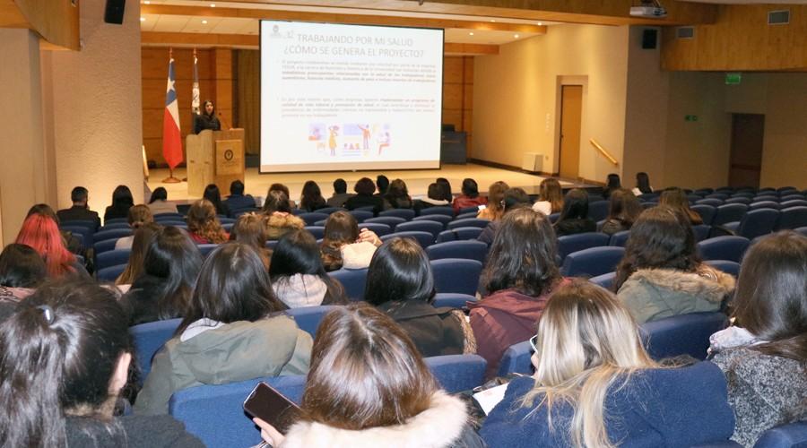 Nutrición y Dietética presentó proyectos de Vinculación con el Medio 2019