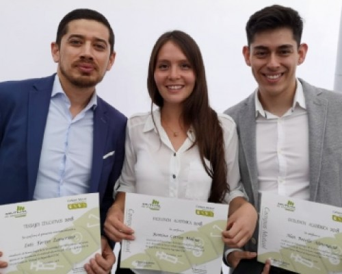 Premiados por Mutual de Seguridad - Luis Torres, Romina Correa y Alans Botello imagen destacada