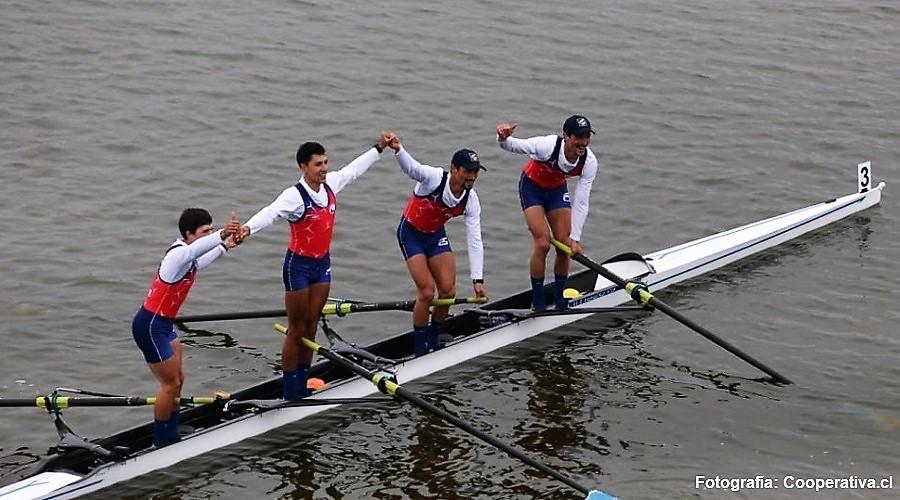 Sebastiano logró el oro en el remo de los Panamericanos 2019